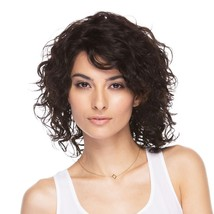 ELEGANTE COLLECTION BRAZILIAN REMY 100% HUMAN HAIR WIG 'H ANABELLE' CURLY WIG
