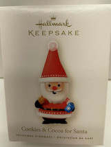 2008 Hallmark Keepsake ORNI Cookies and Cocoa for Santa Christmas Tree O... - $5.89