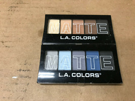 L.A. Colors Makeup Silky Smooth Matte Eyeshadow Palette CHOOSE YOUR PALETTE - $4.79