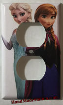 Frozen Elsa Anna Light Switch Duplex Outlet wall Cover Plate & more Home decor image 2