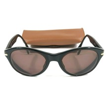 Giorgio Armani 830 020 Black Plastic Oval Sunglasses Eyeglasses Frames 1... - $46.75