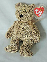"""Ty B EAN Ie Baby Harry The Bear Tag Protector 2002 - Retired 8"""" - $4.90"""