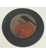 32941 Crow & Mouse Pumpkin Plate - $11.95