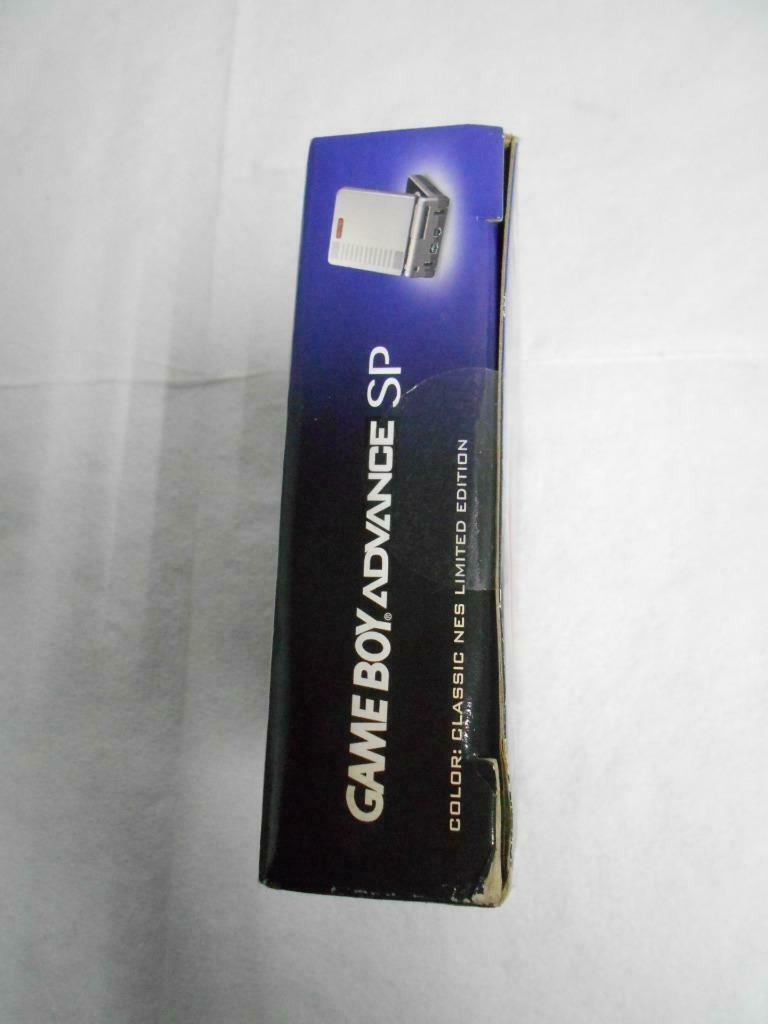 New Nintendo Classic NES Limited Edition Game Boy Advance SP Factory Sealed