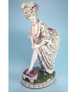 Early Porcelain Erotica, Woman with Bug on Bare... - $295.00