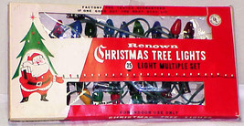 Vintage C-7 Christmas Tree Lights Set of 25 by Renown IOB #2 - $14.99