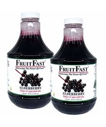 Elderberry Juice Concentrate by FruitFast - Non GMO, Gluten and BPA Free... - $58.95