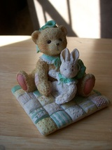 "Cherished Teddies 1991 Camille ""I'd be Lost Without You"" Figurine - $20.00"