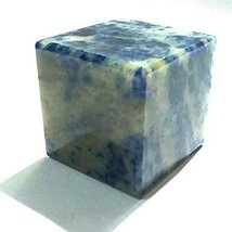 Sodalite Agate cube Agate Drusy Agate Quartz Polished Cub 25 to  40 mm s... - $20.99