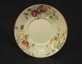 "Sussex Gardens by Princeton Studios 6-3/8"" Saucer Plate Fruit & Flowers ... - $8.90"