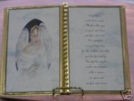 MOTHER BIRTHDAY GIFT / MOTHER'S DAY / ANGEL WITH DOVE - $12.00