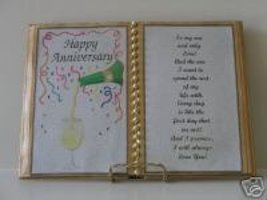 CHAMPAGNE ANNIVERSARY GIFT FOR THAT SPECIAL SWEETHEART - $12.00