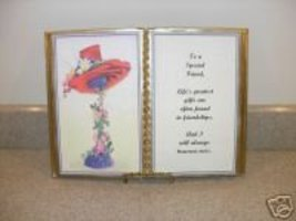 Red Hat Friend BIRTHDAY/ Thinking Of You Gift - $13.50