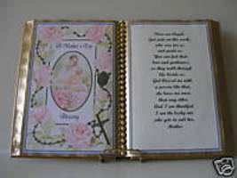 MOTHER'S DAY GIFT BOOK FOR MOTHER - $12.00
