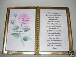 Mom BIRTHDAY/ CHRISTMAS/ Mother's Day GIFT/ Pink Rose - $13.50