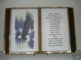 FATHER BIRTHDAY/CHRISTMAS/ FATHERS DAY GIFT BROWN EAGLE - $12.00