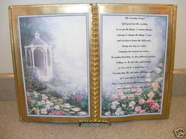 SERENITY PRAYER POEM BOOK FOR YOURSELF OR LOVED ONE - $12.00