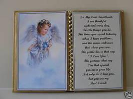 SWEETHEART BIRTHDAY/CHRISTMAS/MOTHERS DAY/ ANGEL/ BIRD - $12.00