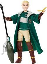 Mattel GDJ71 Harry Potter Quidditch Draco Malfoy, Multicolor - $34.90