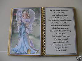 Sweetheart BIRTHDAY/CHRISTMAS/MOTHERS DAY/ANGEL W/ Dove - $13.50