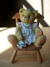 "Cherished Teddies 1996 Dina ""Bear in Mind, Your Special"" Figurine - $18.00"