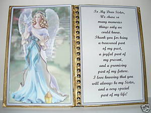SISTER BIRTHDAY/CHRISTMAS/MOTHERS DAY GIFT/ ANGEL DOVE - $12.00