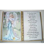 Sister ~ Birthday Gift ~ Mother's Day Gift~ Christmas Gift ~Angel with Dove - $13.50