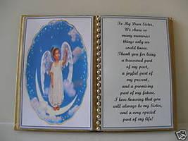 Sister BIRTHDAY/CHRISTMAS/MOTHERS Day GIFT/GIRL On Moon - $12.00