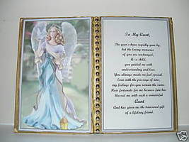 Aunt BIRTHDAY/CHRISTMAS/MOTHERS Day GIFT/ Angel Dove - $13.50