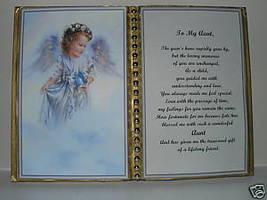 Aunt BIRTHDAY/CHRISTMAS/MOTHERS Day GIFT/ Angel W Bird - $13.50