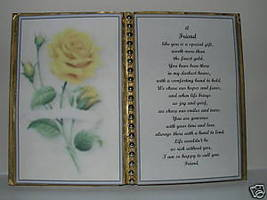 Friend BIRTHDAY/CHRISTMAS/MOTHERS Day GIFT/ Yellow Rose - $13.50