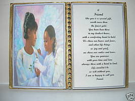 Friend BIRTHDAY/CHRISTMAS/MOTHERS Day GIFT/ANGELS/ Dove - $13.50