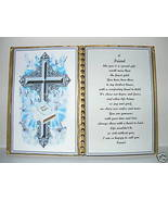 FRIEND BIRTHDAY/CHRISTMAS/MOTHERS DAY GIFT/CROSS BIBLE - $12.00