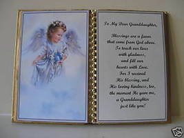 Granddaughter BIRTHDAY/MOTHER'S DAY/CHRISTMAS/ANGEL Bir - $13.50