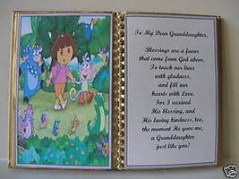 GRANDDAUGHTER BIRTHDAY/MOTHER'S DAY/CHRISTMAS/DORA - $10.00