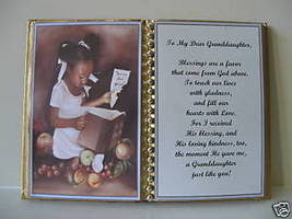 GRANDDAUGHTER BIRTHDAY/MOTHER'S DAY/CHRISTMAS/GIRL/BOOK - $10.00
