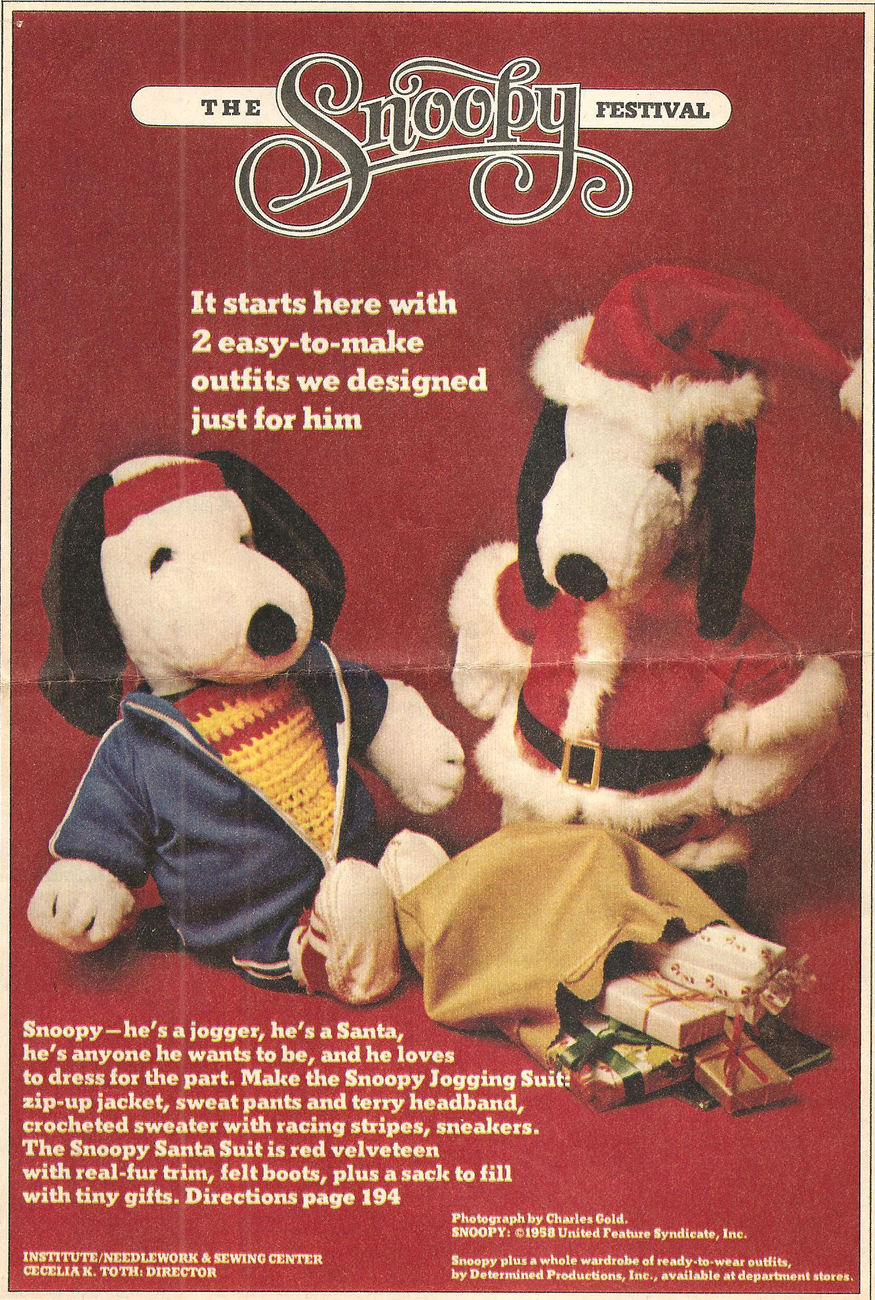 Snoopy clothes 1