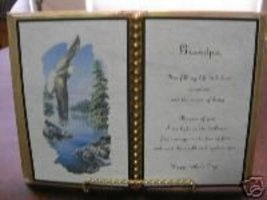 Grandfather Birthday / Father's Day / Eagle Over Rocks - $12.00