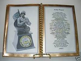 ARMY PRAYER DECORATED BOOK - $12.00