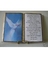 GRANDMOTHER BIRTHDAY/MOTHER'S DAY GIFT/ BLUE DOVE - $12.00