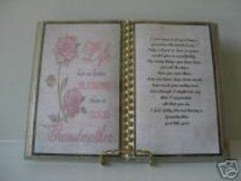 Grandmother Birthday /CHRISTMAS GIFT/ Pink Roses - $13.50