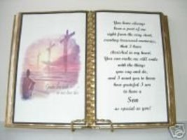 Son BIRTHDAY/ Christmas GIFT/ Crosses Over The Water - $12.00