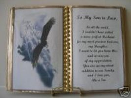 Son In Law Birthday GIFT/FATHER'S Day Soaring Eagle - $13.50