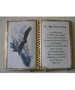 SON IN LAW BIRTHDAY GIFT/FATHER'S DAY SOARING EAGLE - $12.00