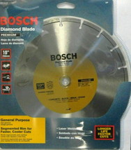 "Bosch DB1041C 10"" Premium Plus Diamond Saw Blade 7/8"" & 5/8"" Arbor - $24.75"