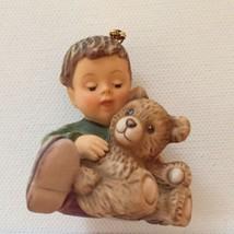 "Goebel Berta Hummel Warm Bear Hugs Ornament 2"" Boy BH108 Box 1998  - $22.95"