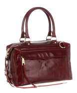NWT $495 Rebecca Minkoff Morning After Bag MAB mini MAM Leather - Burgundy HOLD - $350.00