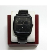 Armani Exchange Men's Diamond AX2361 Black Stainless-Steel Quartz Watch - $59.99