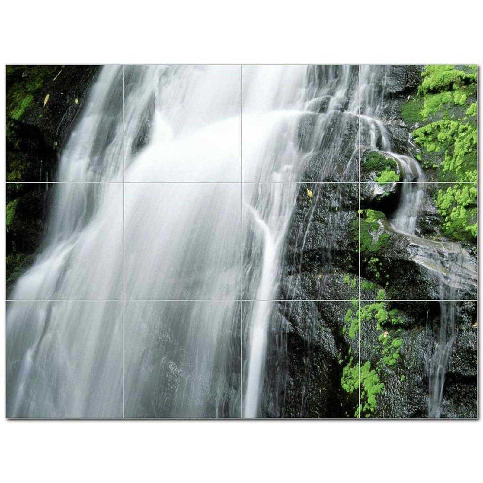Primary image for Waterfalls Picture Ceramic Tile Mural Kitchen Backsplash Bathroom Shower BAZ4062