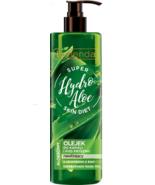 Bielenda Super Skin Diet Hydro Aloe Vera Kiwi Shower Bath Oil Vit A B E ... - $12.81